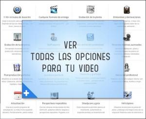 opciones para realizacion de videos institucionales