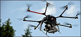 drones grabacion aerea
