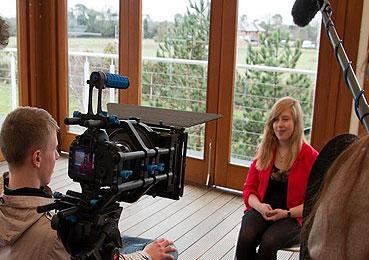 tipos de videos: de entrevistas